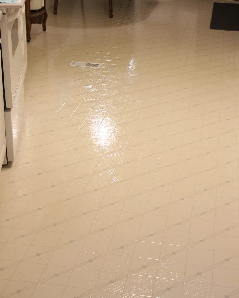 Clean And Shiny Kitchen Floor (My Dirty Little Secret) | All4Fun Cakes LLC